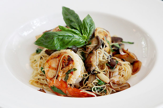 Angel Hair Olio Seafood