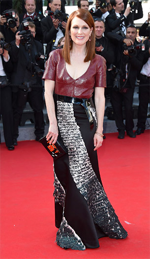 Julianne Moore in Louis Vuitton - 2014