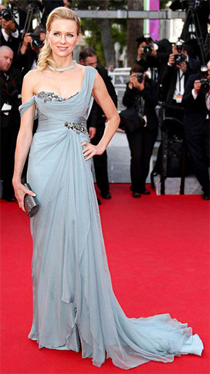 Naomi Watts in Marchesa - Cannes 2014