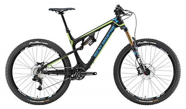 Mountain Bike - Rocky Mountain Altitude 770 MSL Rally Edition