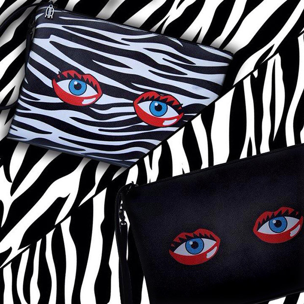 กระเป๋า Rouge Rouge Eye Lips Clutch