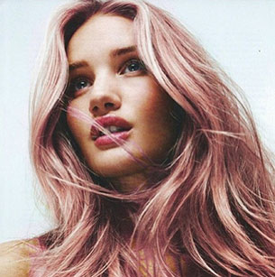 ทำสีผม - Rosie Huntington-Whiteley