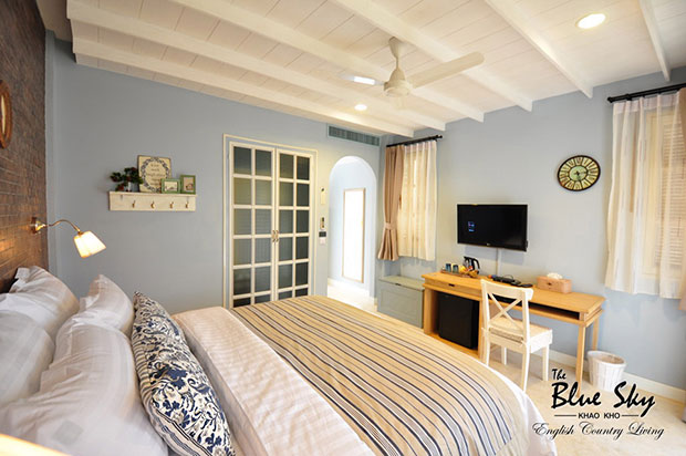 ห้องพัก The Blue Sky Resort