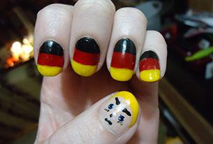 เล็บ บอลโลก เยอรมัน
