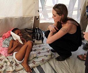 แองเจลิน่า โจลี - UNHCR