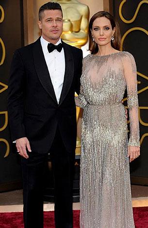 Angelina Jolie, Brad Pitt Oscars 2014