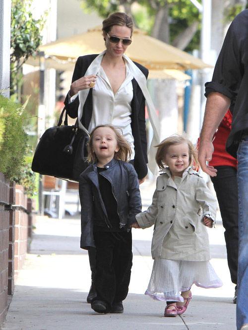 Angelina Jolie, Knox Leon, Vivienne Marcheline
