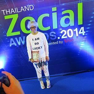 Celeb Thailand Zocial Awards 2014