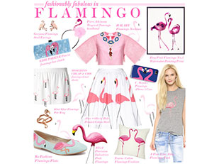 Fashionably Fabulous in Flamingo by houseofhauteness