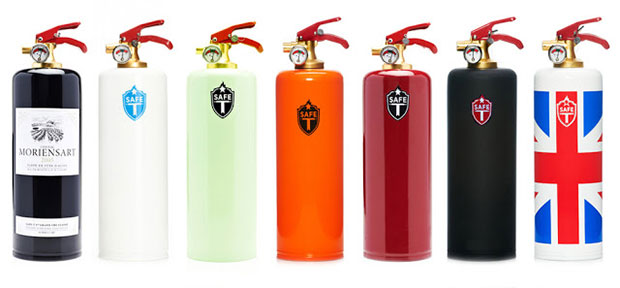 Fire Design Collection ถังดับเพลิงมีดีไซน์