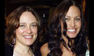 Marcheline Bertrand, Angelina Jolie