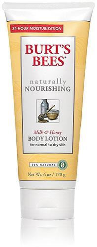 Naturally Nourishing Milk & Honey Body Lotion