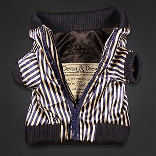 Stripe Jacket Big Fox