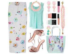 #TRENDALERT #PrintedSkirts #FloralPrints by designsbytraci