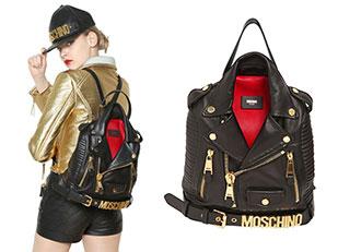 กระเป๋าเสื้อหนัง MOSCHINO