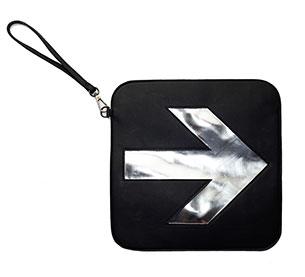 กระเป๋า ARROW black sliver