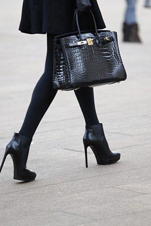กระเป๋า Hermes Birkin สีดำ