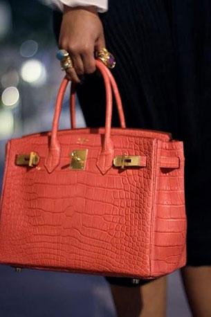 กระเป๋า Hermes Birkin สีโอรส