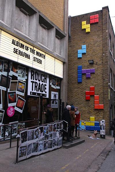 กำแพง Tetris Disneys Wreck It Ralph 8 Bit Lane