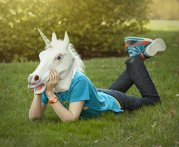 หนัากาก Unicorn