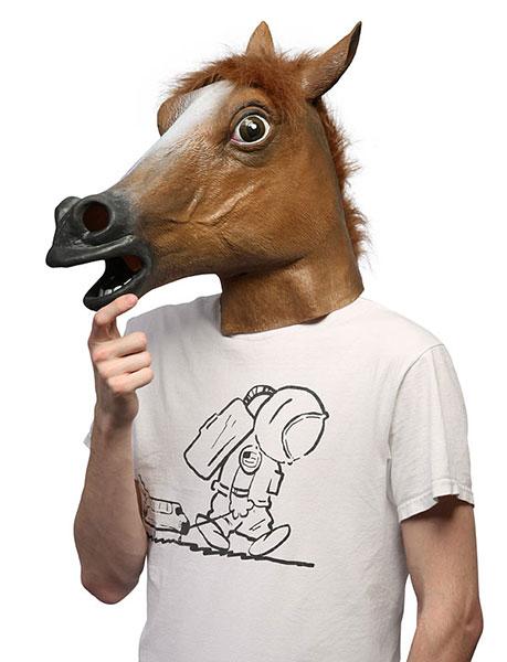 ของเล่น หน้ากากม้า