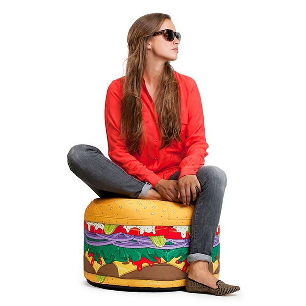 เก้าอี้บีนแบ็กเบอร์เกอร์