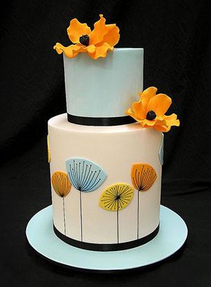 เค้ก ทุ่งดอกไม้
