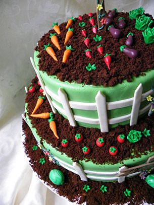 เค้ก สวนผัก