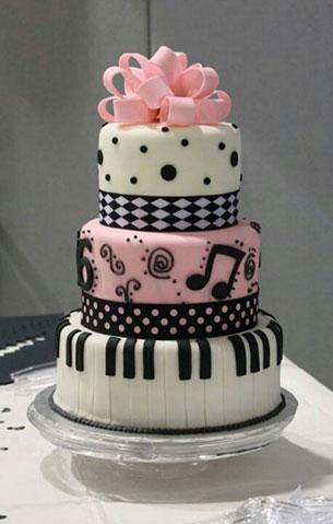 เค้ก เปียโน