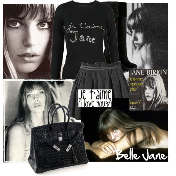 เจน เบอร์คิน - Hermes Birkin
