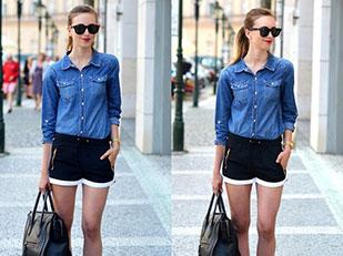 เสื้อยีนส์ Choies, กางเกงขาสั้น Ivy Revel