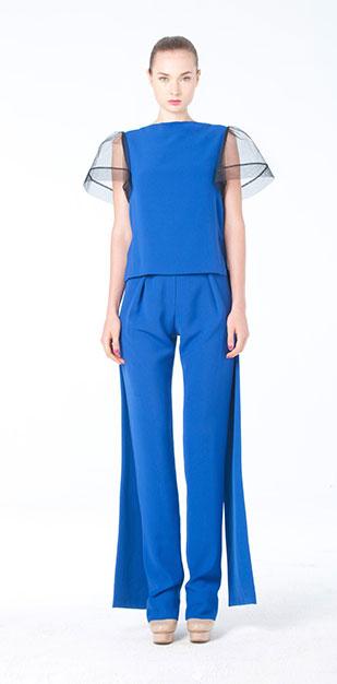 เสื้อแฟชั่น สีน้ำเงิน