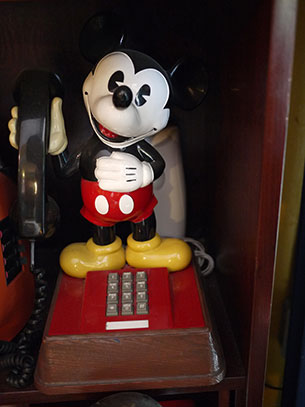 โทรศัพท์ Mickey Mouse