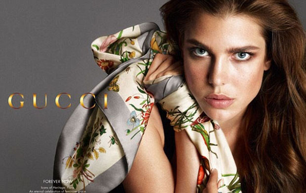 Charlotte Casiraghi - Gucci