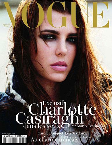 Charlotte Casiraghi - Vogue