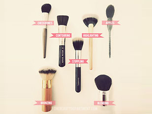 Cheek Brush Guide