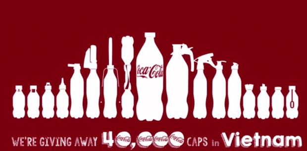 """Coca Cola Bottle Caps """"2nd Lives"""" Campaign"""