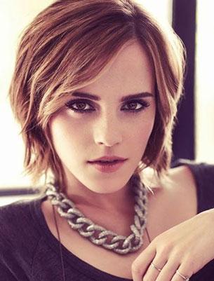 Emma Watson ผมบ๊อบ