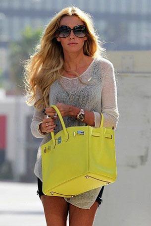 Hermes Birkin สีเหลือง