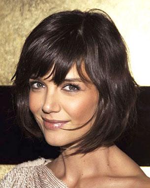 Katie Holmes ผมบ๊อบ