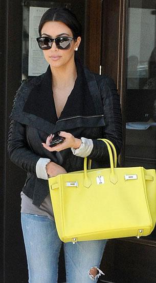 Kim Kardashian - Hermes Birkin