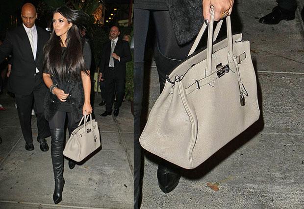 Kim Kardashian - Hermes
