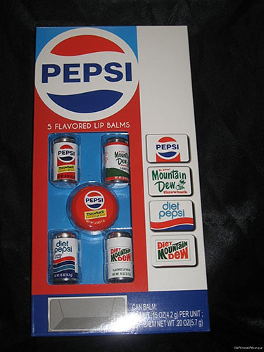 Lip Balm Pepsi, Mountain Dew