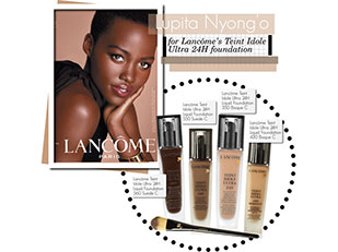Lupita Nyong'o's First Lancome Ad Revealed by kusja
