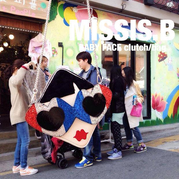 MISSIS B Clutch/Bag