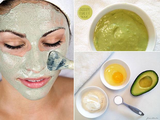 Mask หน้า อะโวคาโด - Avocado Mask