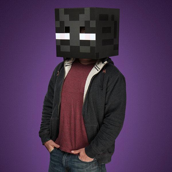Minecraft หนัากาก