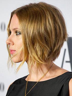 Scarlett Johansson ผมบ๊อย