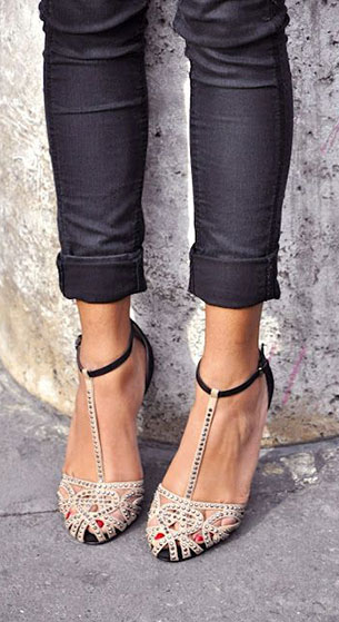 Zara Flat Jelly Sandal