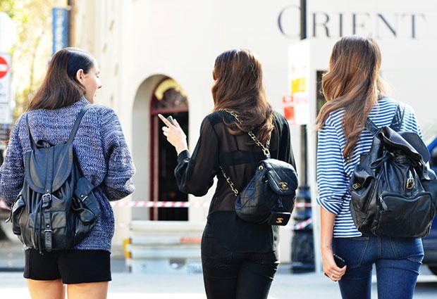 กระเป๋าเป้แฟชั่น Gucci